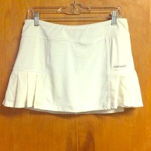 Head Skirt Skort White Shorts large Tennis